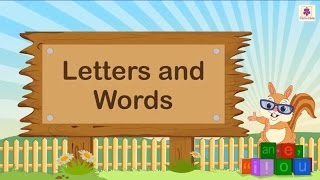 Creating English Words From Letters For Kids | English Grammar | Grade 2 | Periwinkle