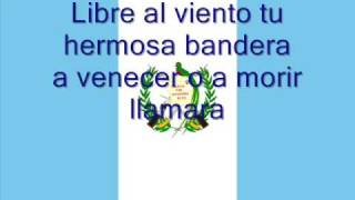 Hymne national du Guatemala