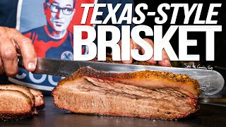 TEXAS STYLE SMOKED BRISKET AT HOME   SAM THE COOKING GUY 4K