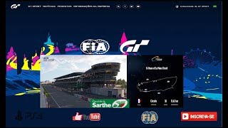 Gran Turismo®SPORT - Desafio de Missões - Circuito De La Sarthe