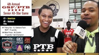 Valley Christian Senior Nyah Willis - GSF/PTB All-Star Game Exclusive