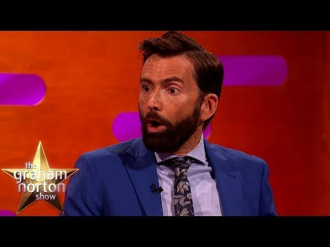 David Tennant o sextingu a Michael Sheen o Banksym