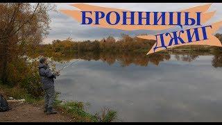 Ловля спиннингом осенью на москве реке