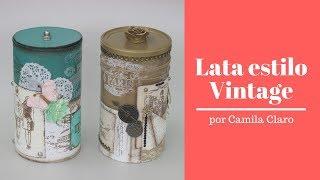 Lata Vintage - por Camila Claro