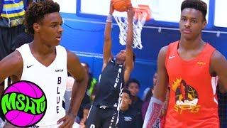 Bronny James DUNKS ALL OVER MIAMI at 2019 Balling on the Beach