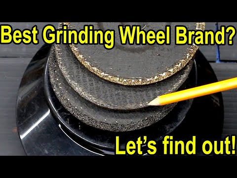 Which Metal Grinding Wheel is Best?  Let's find out!