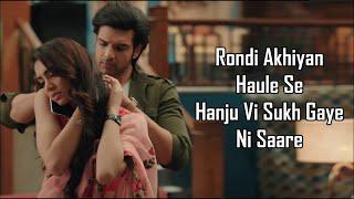 Rondi Ankhiyan Lyrics   Akhil Sachdeva   Dil Hi   - YouTube