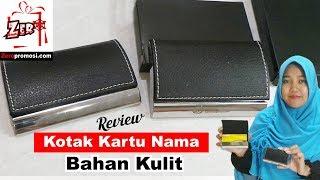Review Kotak Kartu Nama Kulit - Name Card Box NC9106
