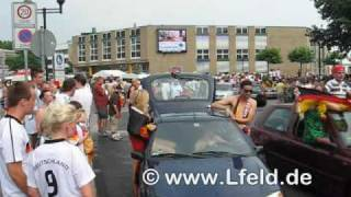 preview picture of video 'Autocorso Fußball WM 2010 - Langenfeld Rheinland'