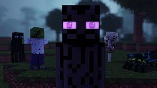 Time Lapse Wood Enderman Build Minecraft Most Popular Videos - Minecraft enderman spiele