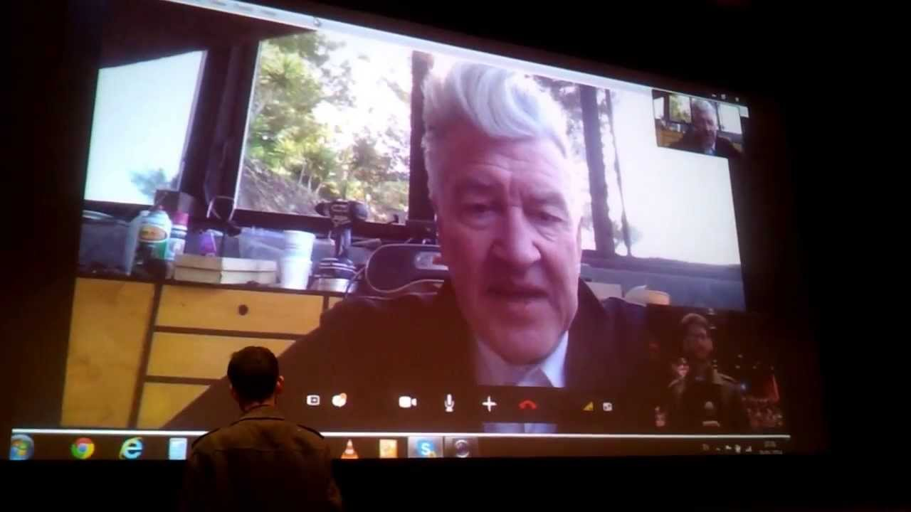 David Lynch talks about peace in Israel