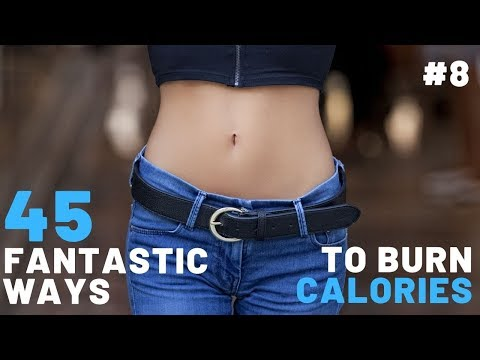45 Fantastic Ways To Burn Calories (Tip 36-40)