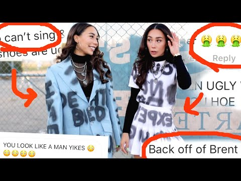 TURNING MY HATE COMMENTS INTO DIY FASHION!   MyLifeAsEva