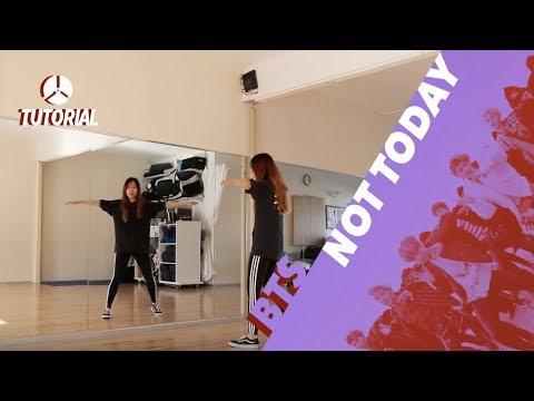 [TUTORIAL] BTS (방탄소년단) - Not Today | Dance Tutorial by 2KSQUAD
