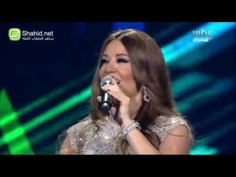 "غناء ديانا حداد مع متسابقي ""Arab Idol"""