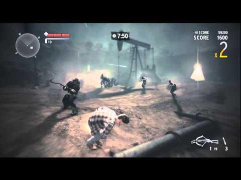 Akční gameplay z Alan Wake's American Nightmare