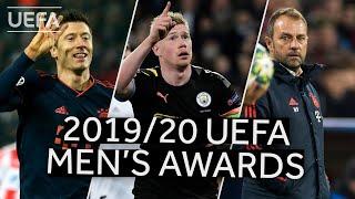 2019/20 UEFA Men's Awards' Winners