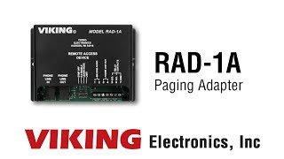 Viking RAD-1A Paging Adapter