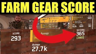 How to Increase Gear Score In Division 2 (Increase World Tier Unlock Strongholds & Hard Missions)