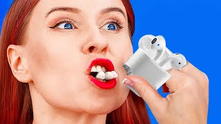 UNEXPECTED FOOD HACKS YOULL LOVE! || Funny Food Pranks And Challenges By 123 Go! Live