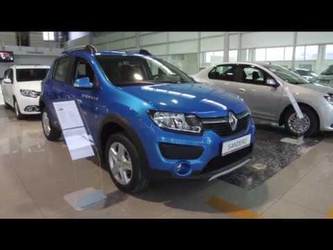Renault  Sandero Stepway Хетчбек класса B - рекламное видео 3