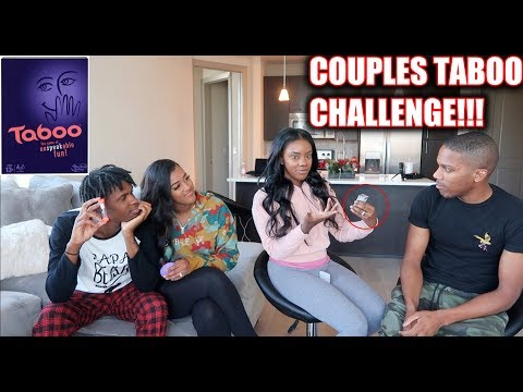 COUPLES TABOO CHALLENGE!!! **VERY FUNNY**
