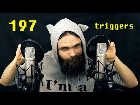 ASMR 197 Triggers for People who don't get Tingles