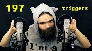 ASMR 197 Triggers for People who don