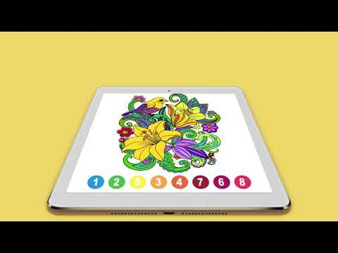 Paint ly Color by Number - Fun Coloring Art Book - Free