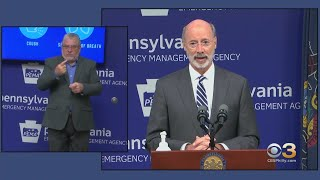 Pennsylvania Gov. Wolf Addresses Pre-Canvassing
