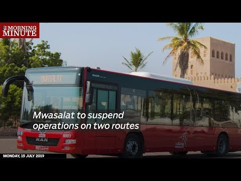 Mwasalat to suspend operations on two routes