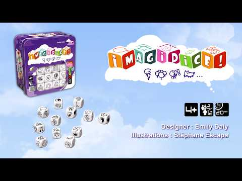 Youtube Video for Imagidice - Hone your Imagination!