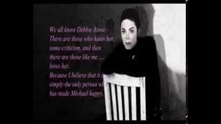 Debbie Rowe says. I miss Michael Jackson. ( Sub Ita)