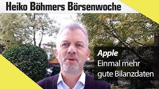 Apple: Einmal mehr gute Bilanzdaten
