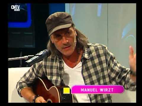 Manuel Wirzt video Así compuso Hoy te necesito - Estudio CM - Mayo 2015
