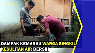 VIDEO - Dampak Kemarau Warga Singkil Mulai Kesulitan Air Bersih