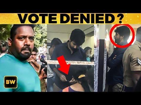 ஓட்டுக்காக போராடிய Sivakarthikeyan! | TN Election