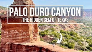 CAMPING & HIKING IN THE TEXAS GRAND CANYON (Palo Duro Canyon State Park) | Texas Road Trip PART 2!