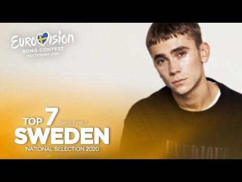 🇸🇪: Eurovision 2020 - Melodifestivalen 2020 - Semi-Final 1 - Top 7