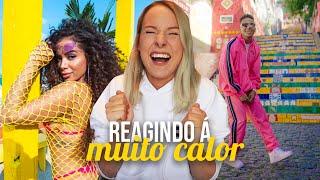 REGINDO À MUITO CALOR   ANITTA E OZUNA (REACT)