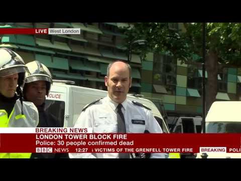 London Fire: 30 people confirmed dead – BBC News