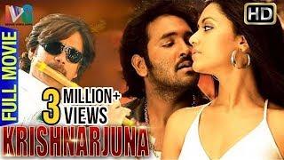 Krishnarjuna Hindi Full Movie   Nagarjuna   Vishnu   Mamta Mohandas   Indian Video Guru