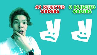 Deliveroo Rider Rant: Does canceling orders affect your driver account? [MY OPINION]