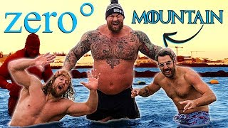 The Mountain FREEZES US TO THE BONE IN OCEAN *painful*