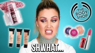 FULL FACE REVIEW The Body Shop Makeup | KristenLeanneStyle