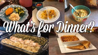 What's for Dinner?| Easy & Budget Friendly Family Meal Ideas| March 4-10, 2019