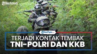KKB Kembali Menembaki Aparat TNI-Polri di Ilaga Papua pada Kamis Malam, Warga Sempat Ketakutan