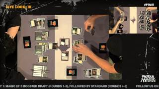 Pro Tour Magic 2015 - Round 5 (Standard) - Gabriel Nassif vs. Fabrizio Anteri