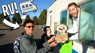 RV CHRISTMAS COOKIE TRUCK POP UP SHOP!