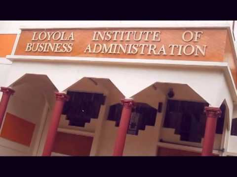 Loyola Institute of Business Administration video cover1